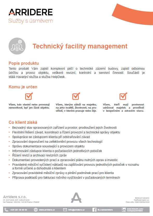technicky facility management pdf